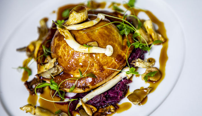 Marco Pierre White Steakhouse Bar & Grill, Ferensway, Hull game pie