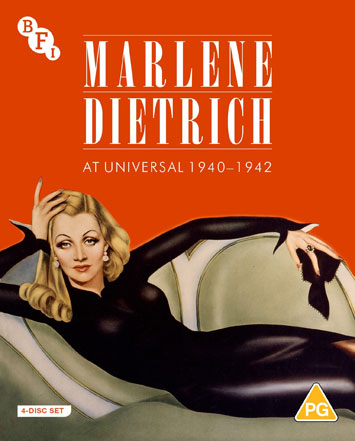 Marlene Dietrich at Universal 1940-1942 Box Set Review cover