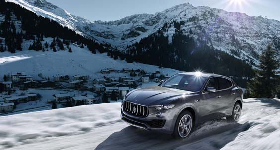 Maserati Levante Diesel review snow