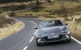Mazda MX5 RF review front