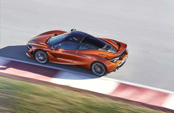 McLaren 720S car review above