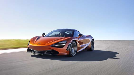 McLaren 720S car review front