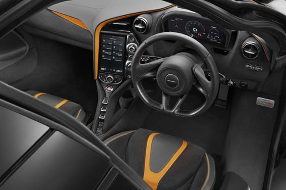 McLaren 720S car review interior