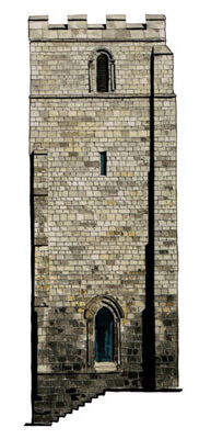 Medieval Church Towers in Yorkshire Cities york alone