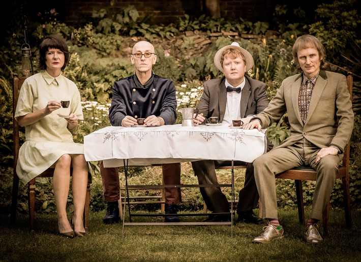 Micko & the Mellotronics interview band