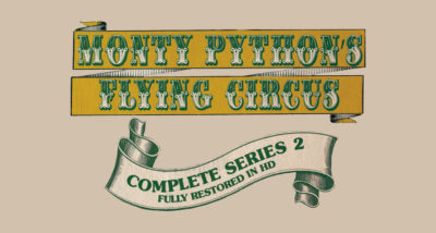 Monty Python's Flying Circus Series 2 Blu-ray review main logo