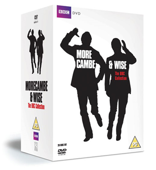 Morecambe and Wise bbc collection dvd review cover