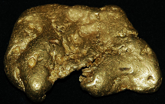 Most Bizarre Things Found Buried in Gardens 8 Pound Gold Nugget
