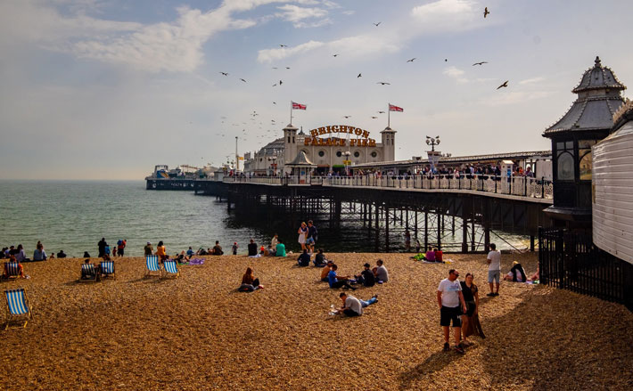 Most Popular UK Destinations for a Staycation brighton