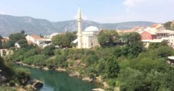 Mostar Bosnia Herzogovina Travel Review minarets