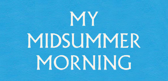 My Midsummer Morning by Alastair Humphreys – Book Review logo main