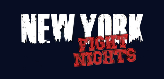 New York Fight Nights by Thomas Myler logo