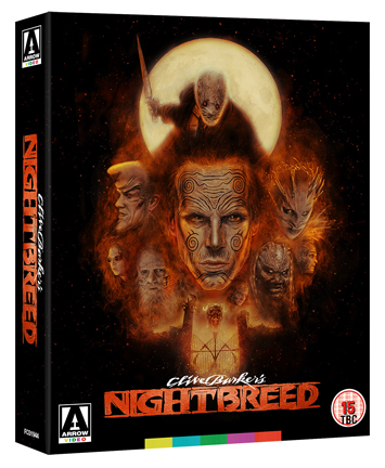Nightbreed film review bluray cover