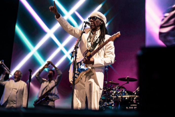 Nile Rodgers and CHIC - Scarborough OAT 4