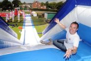 Obstacle Course Visits Temple Newsam Leeds giant slide