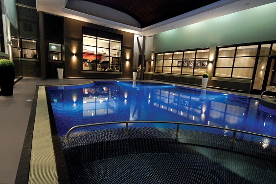 Oulton Hall spa review swimming pool