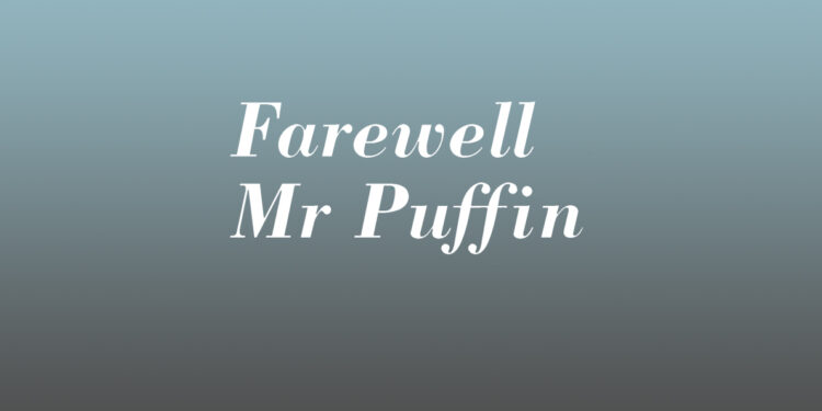 Paul Heiney Farewell Mr Puffin book review logov