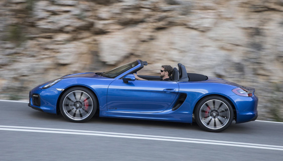 Porsche 718 Boxster car review main
