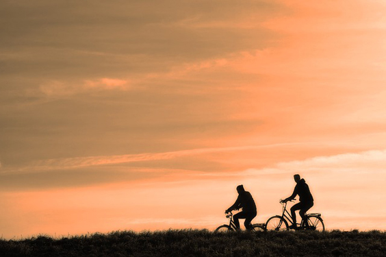 Reasons to Start Cycling in Yorkshire sunset