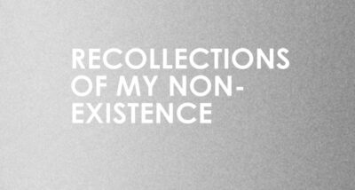 Recollections of My Non-Existence Rebecca Solnit Book Review main logo