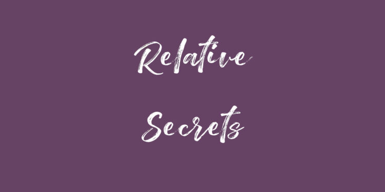 Relative Secrets by Helen Stancey book Review cover logo
