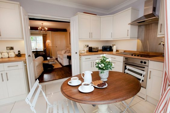 Rokerby Cottage Hutton Magna Teesdale review kitchen