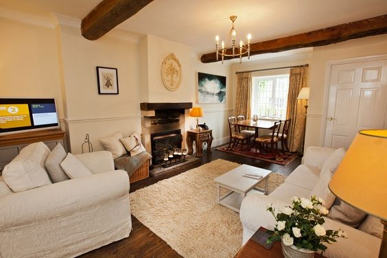 Rokerby Cottage Hutton Magna Teesdale review living room