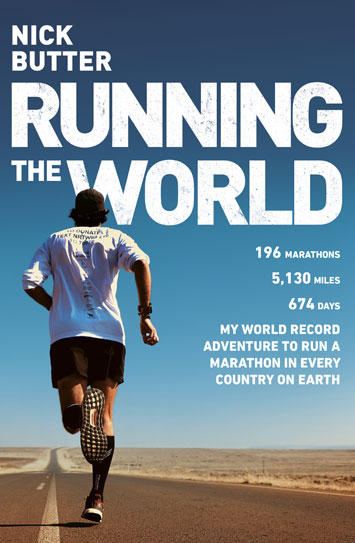 Running the World Nick Butter book Review cover