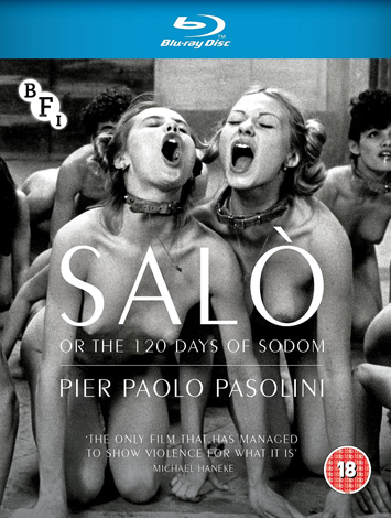 Salò or the 120 Days of Sodom Film Review cover