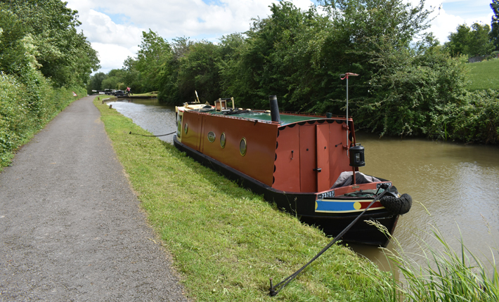 Seven Unusual Types of Dog-Friendly Accommodation in Yorkshire canal
