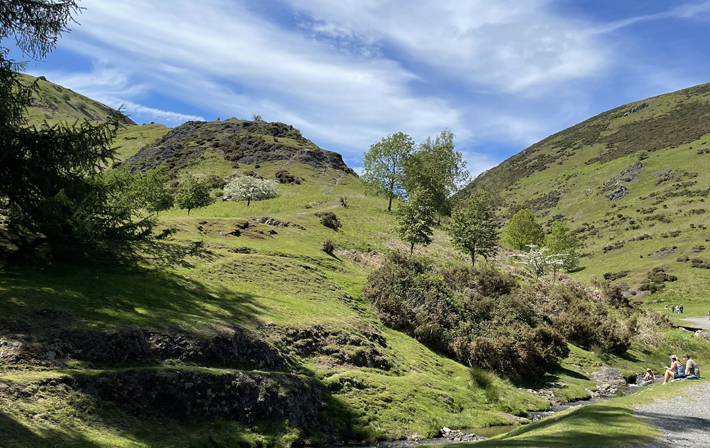 Shropshire Travel Review carding mill valley