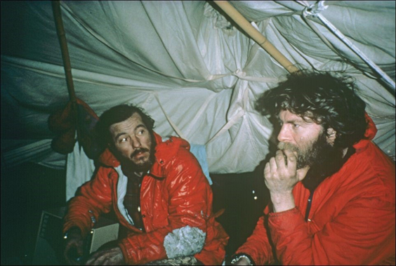 Sir Ranulph Fiennes interview tent (1)