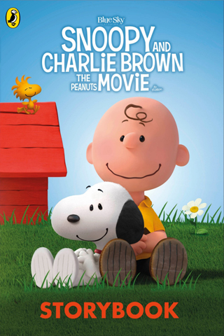 Snoopy and Charlie Brown The Peanuts Movie Book review cover