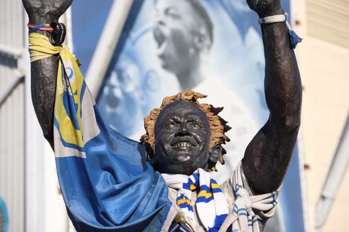 So Far, So Good for Leeds United Back in the Premier League statue
