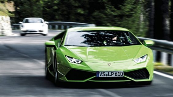 Some of the Very Best European Road Trips lamborghini
