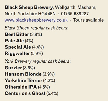 Story of Black Sheep Brewery Masham beers