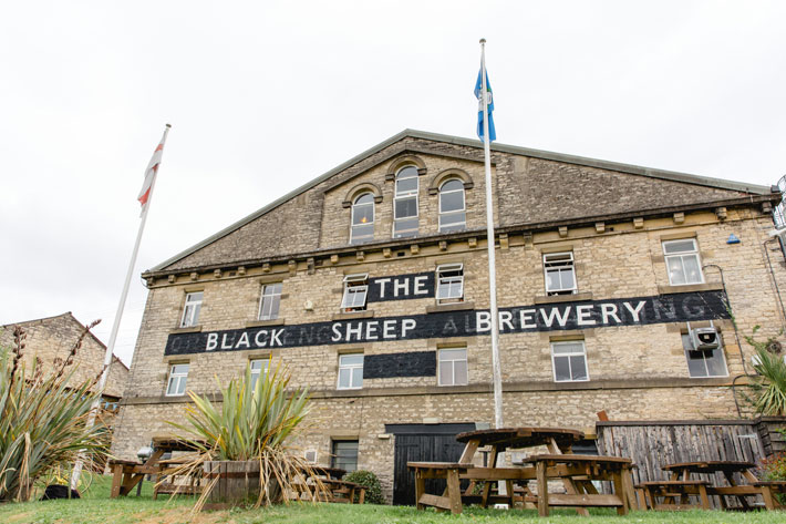 Story of Black Sheep Brewery Masham exterior