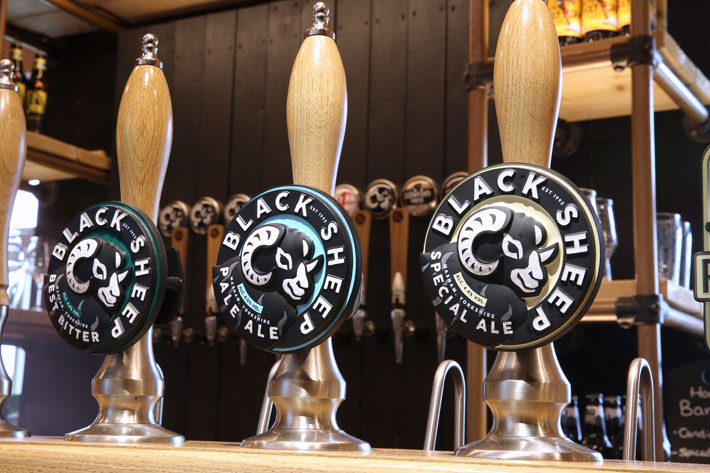 Story of Black Sheep Brewery Masham pumps