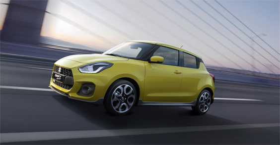 Suzuki Swift Sport 1.4 car review front