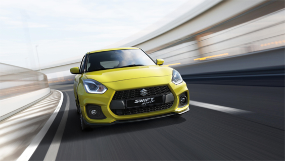 Suzuki Swift Sport 1.4 car review main