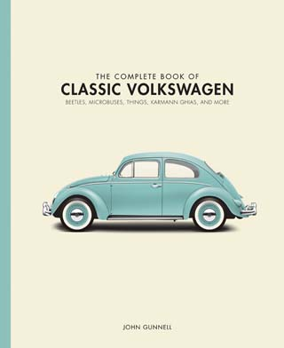 THE COMPLETE BOOK OF CLASSIC VOLKSWAGEN by John Gunnell cover review