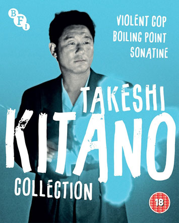 Takeshi Kitano Collection violent cop film review cover