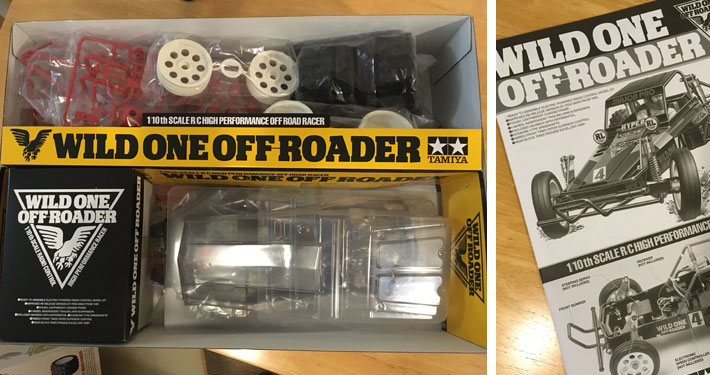 Tamiya Wild One Off-Roader Build Review 2