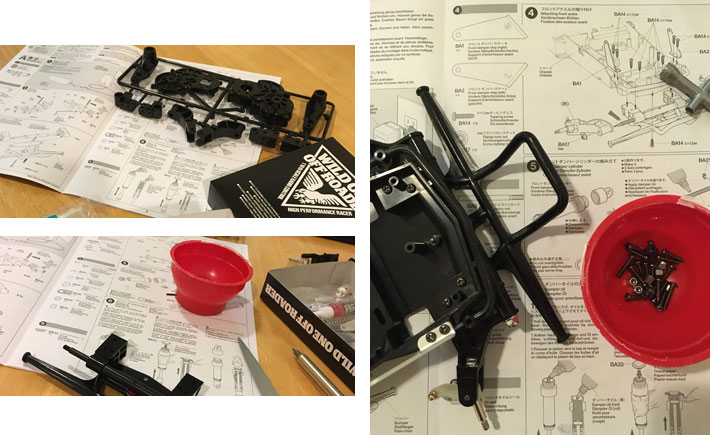 Tamiya Wild One Off-Roader Build Review 3