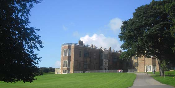 Temple Newsam House west front. Photograph S Ward