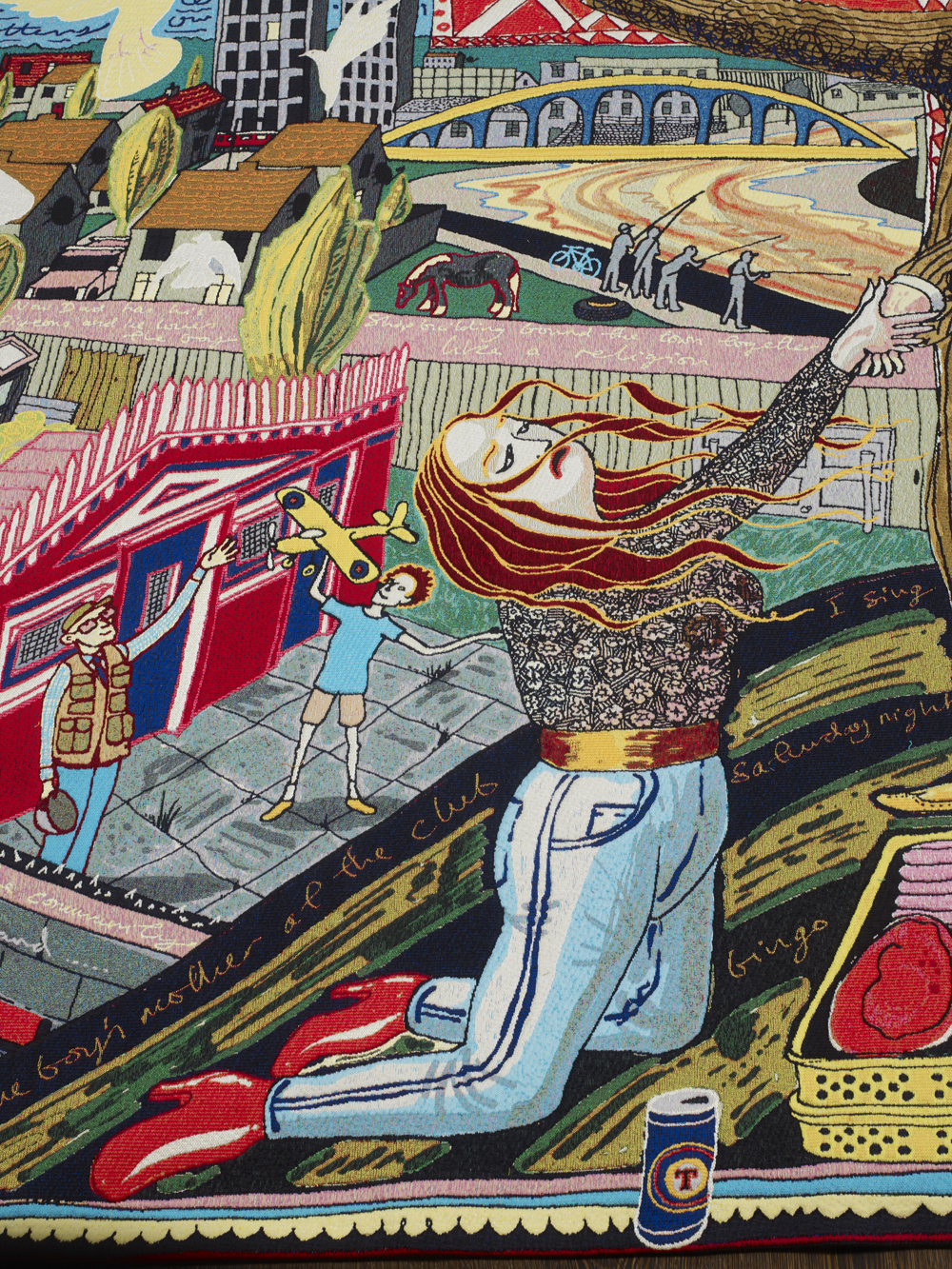 Grayson Perry At Temple Newsam Exhibition In 2014 An Archived Post Featuring A Gallery Of The