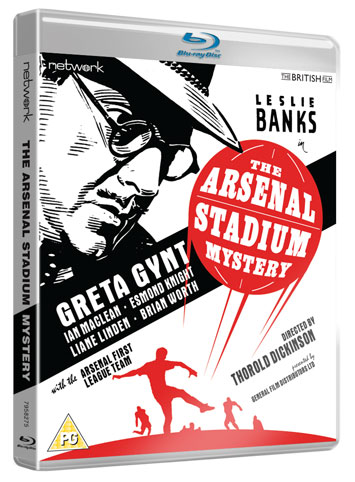 The Arsenal Stadium Mystery film review cover
