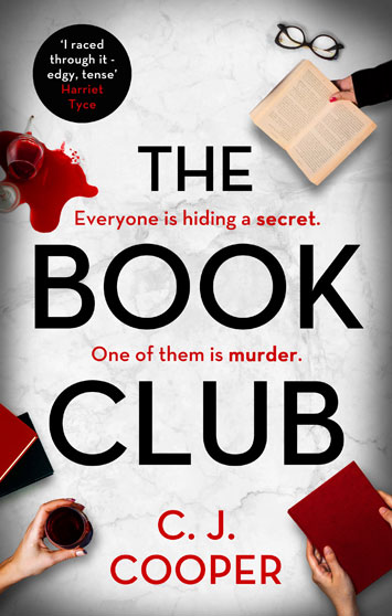 The Book Club by C.J. Cooper book Review cover