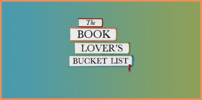 The Book Lover's Bucket List by Caroline Taggart book Review cover logo