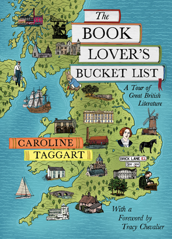 The Book Lover's Bucket List by Caroline Taggart book Review cover